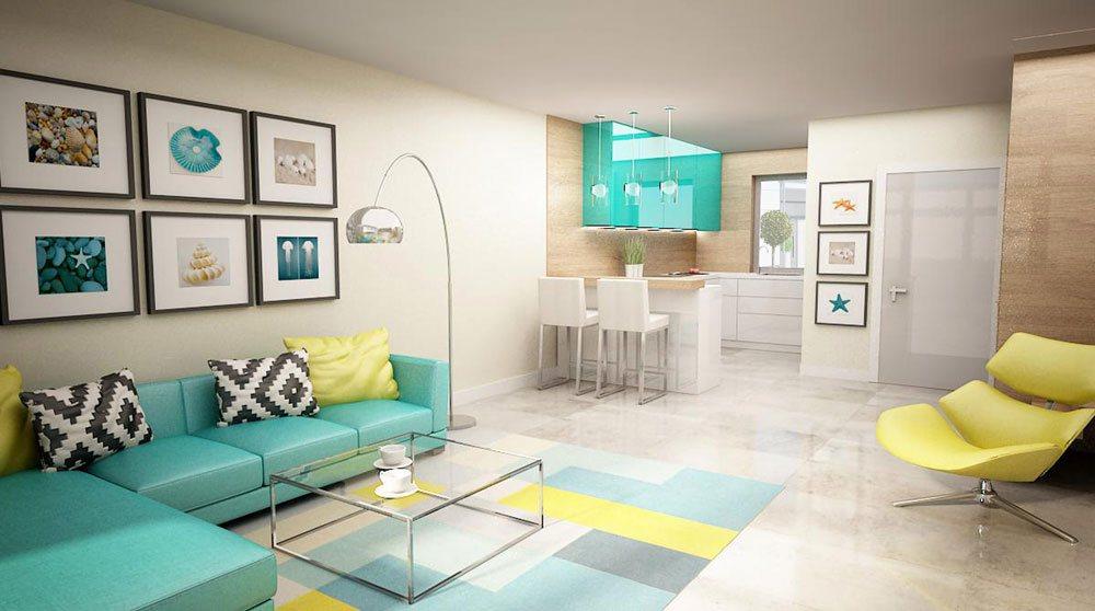 Wizualizacja wnętrza mieszkania